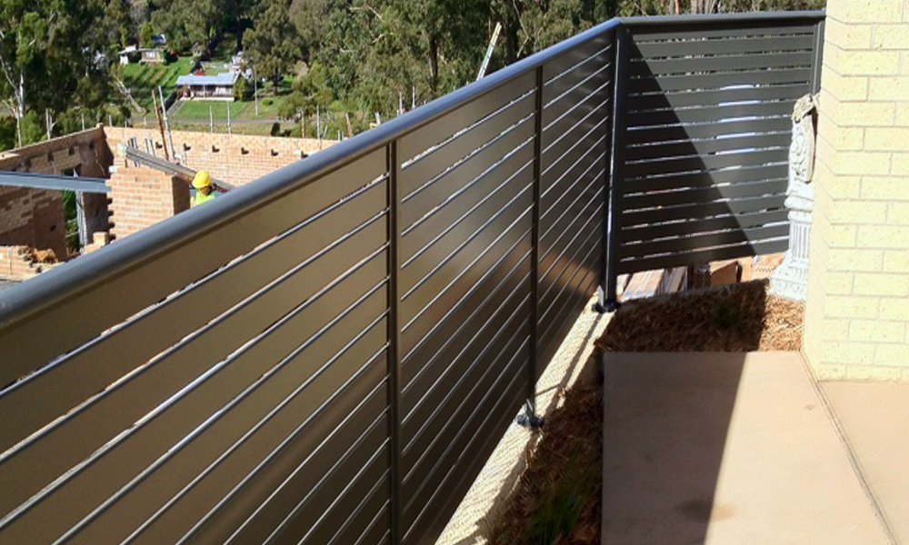 Aluminium Railings 77