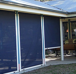Clear PVC Blinds