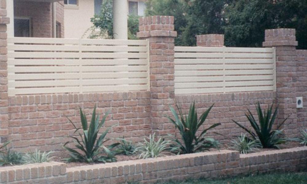 Brick Fencing 12