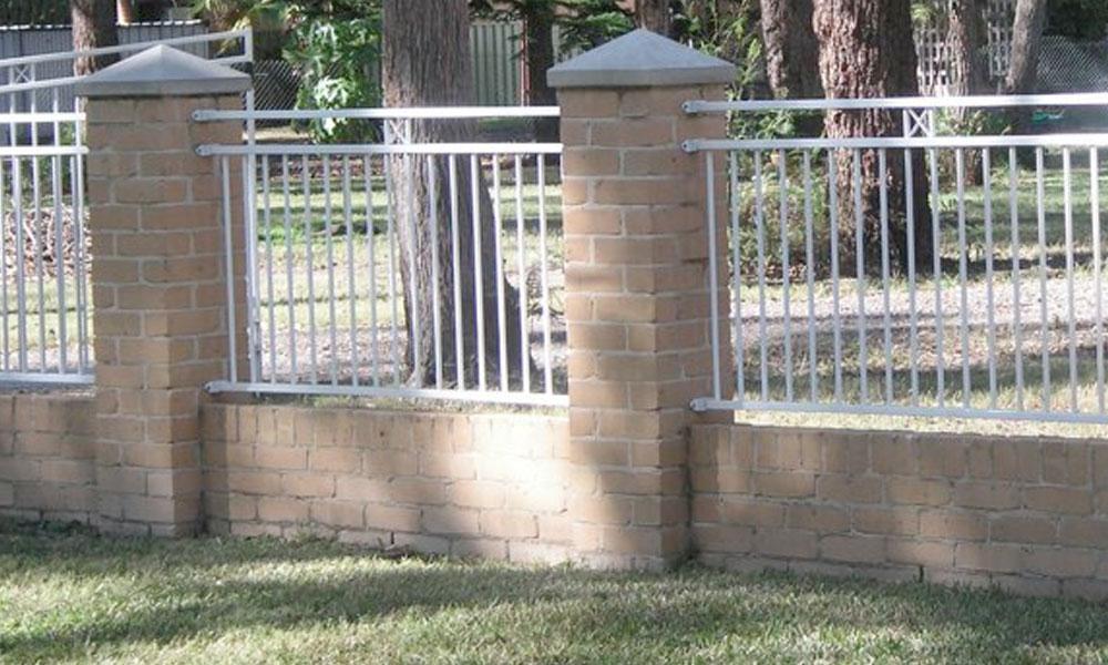 Brick Fencing 5