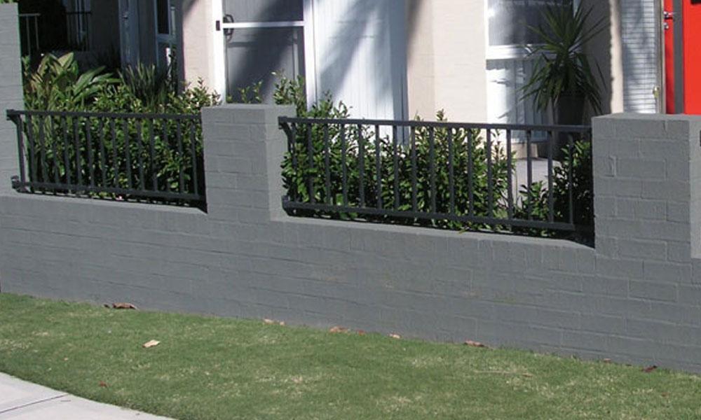 Brick Fencing 7