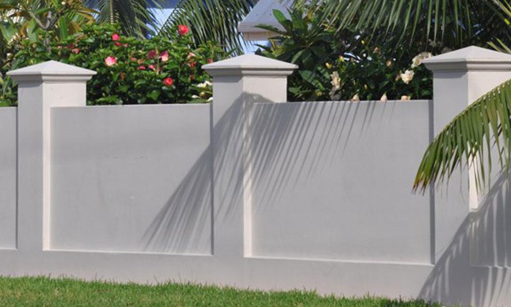 Modular Wall Fencing 1