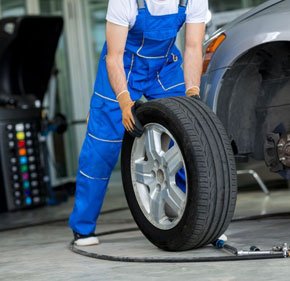 Tyre Repair Shops