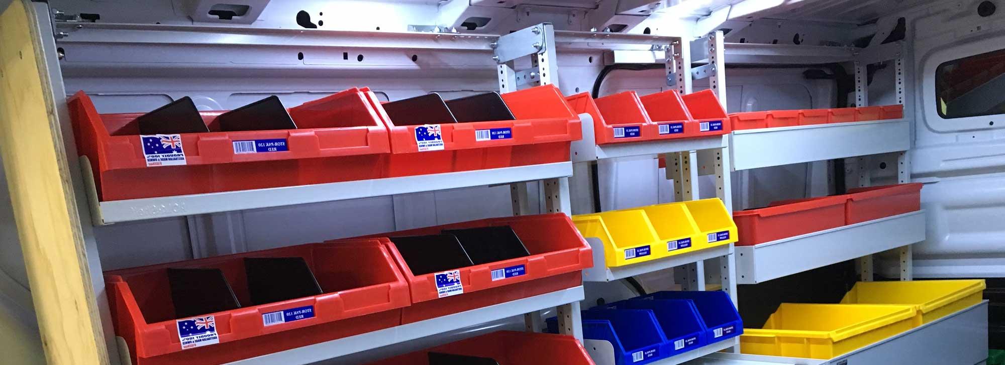 Van Shelving Suppliers
