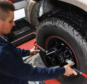 Wheel Alignment & Wheel Balancing