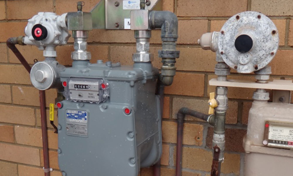 Gas fitting 4
